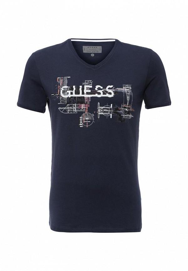 Футболка с надписями Guess Jeans M62I05 J1300