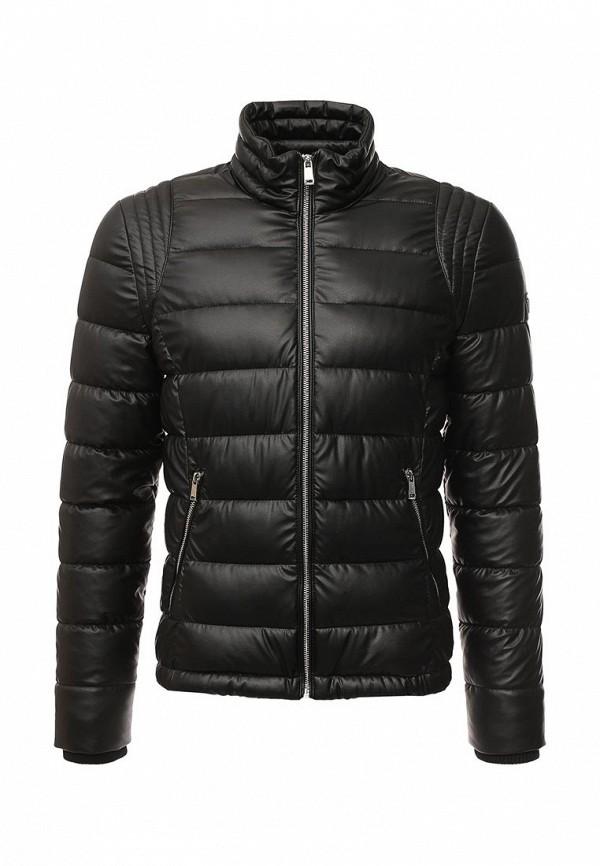 Кожаная куртка Guess Jeans M63L48 W7IW0