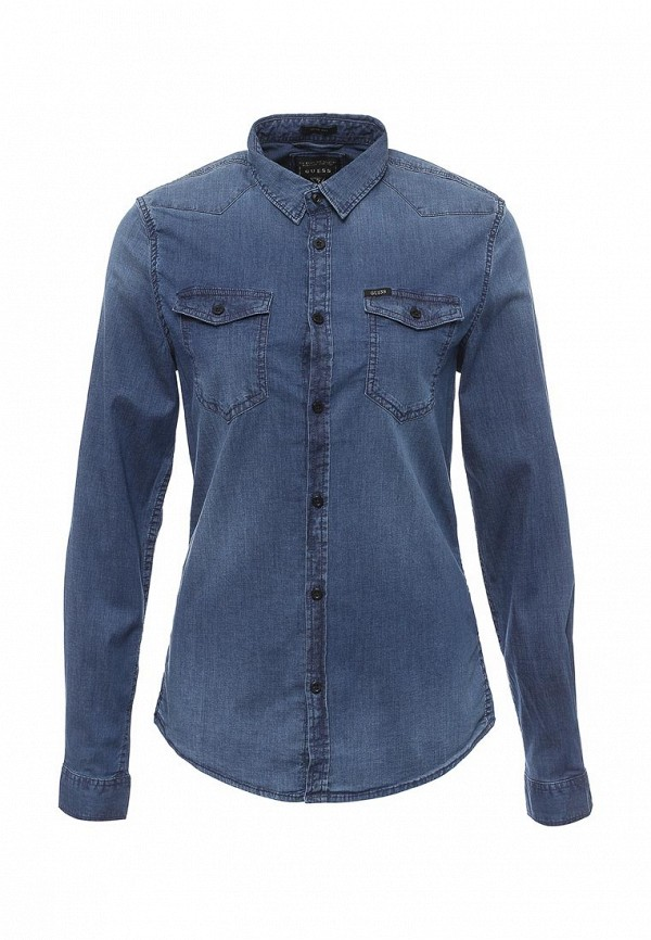 Рубашка джинсовая Guess Jeans m64h02 d2cv1