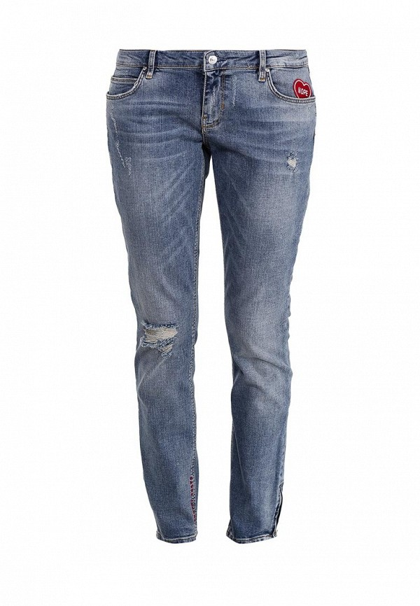 Зауженные джинсы Guess Jeans W72AB8 D2GK0