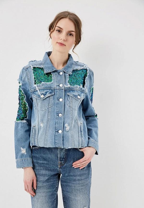 Куртка джинсовая Guess Jeans Guess Jeans GU644EWANXY1 куртка утепленная guess jeans guess jeans gu644ewvpl63