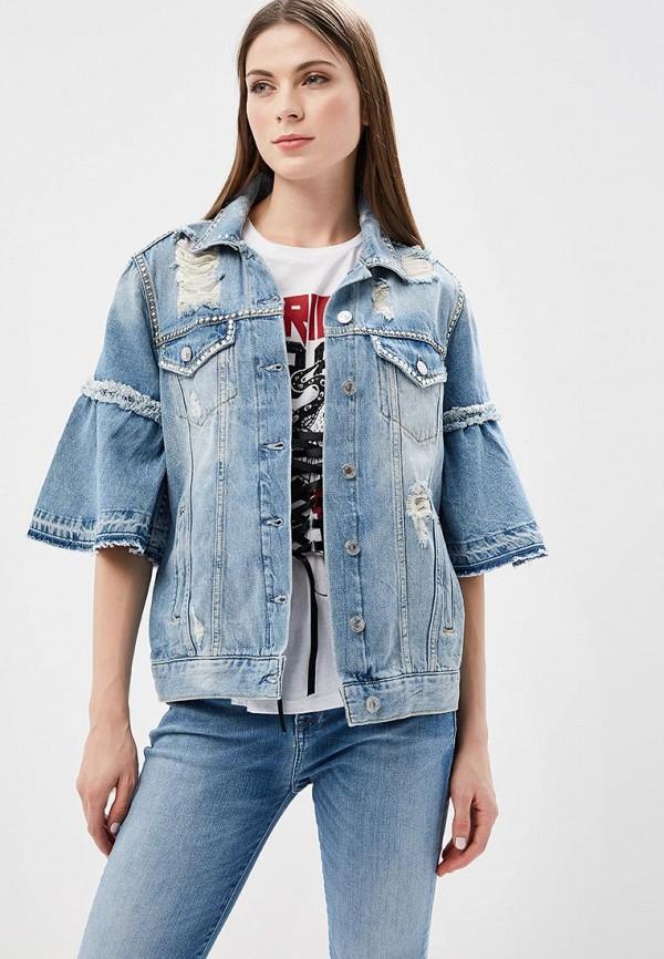Куртка джинсовая Guess Jeans Guess Jeans GU644EWANXY3 куртка утепленная guess jeans guess jeans gu644ewvpl63