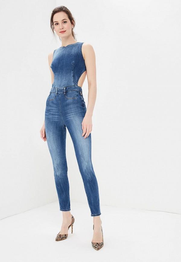 Фото Комбинезон джинсовый Guess Jeans. Купить с доставкой