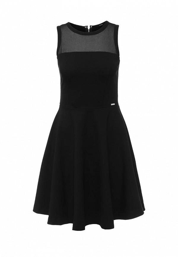 Платье-миди Guess Jeans w62k29 k3pg0