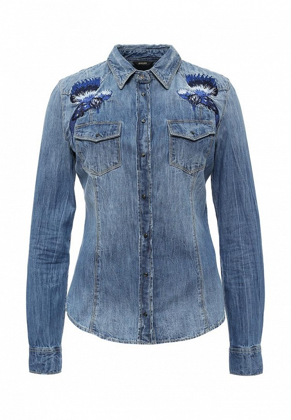 Рубашка Guess Jeans w63h11 d14lm