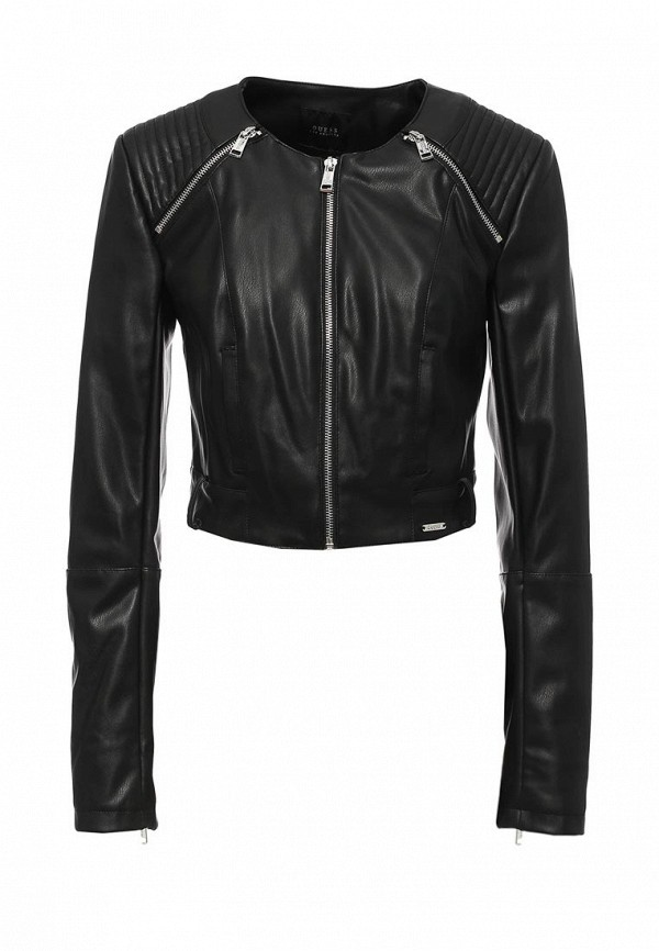 Кожаная куртка Guess Jeans w72n61 w7v20