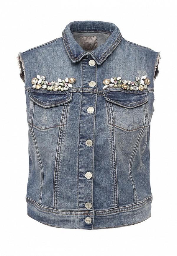 Жилет джинсовый Guess Jeans w72n05 d2gk1
