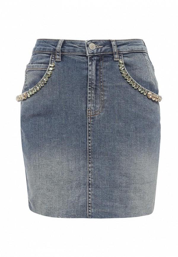 Мини-юбка Guess Jeans w72d07 d2gk1