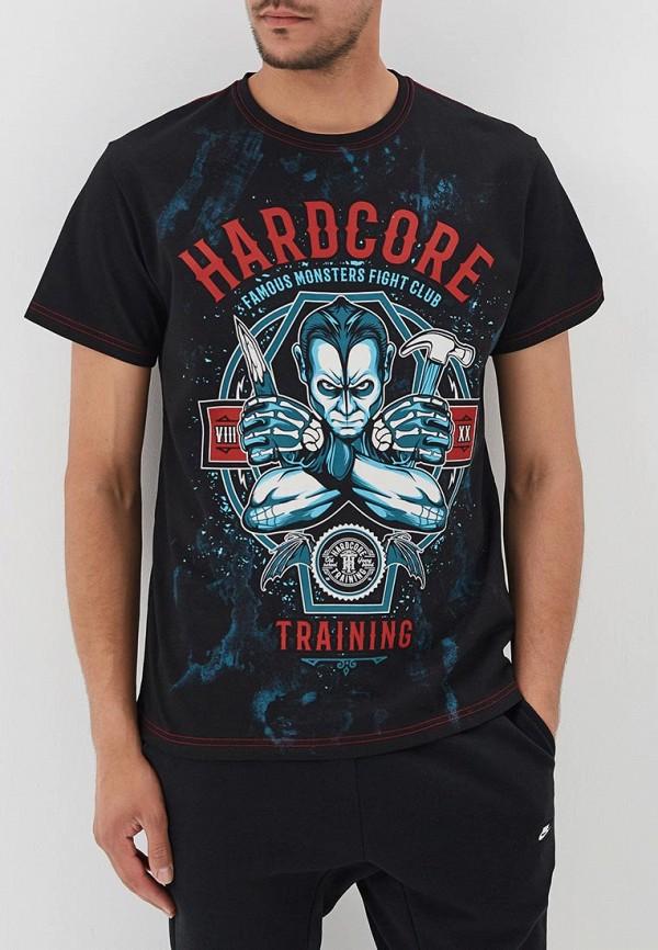 Футболка Hardcore Training Hardcore Training HA020EMBONY1 yo zuri hardcore surface crank