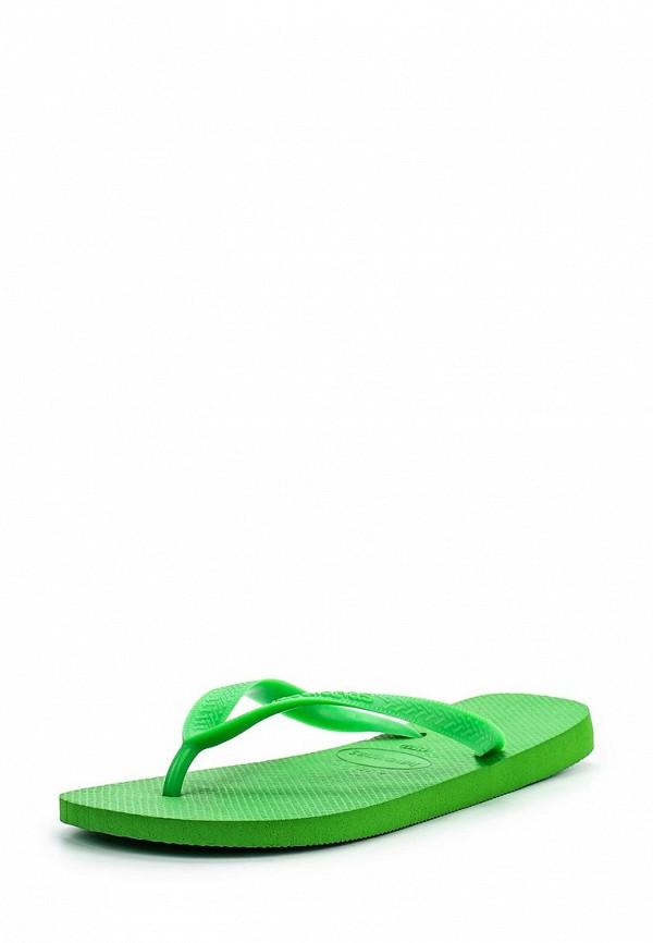 Женские зеленые летние шлепанцы