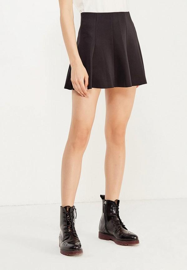 Фото - женскую юбку H:Connect черного цвета