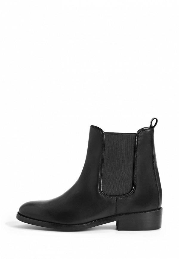Мужские черные испанские осенние кожаные ботинки