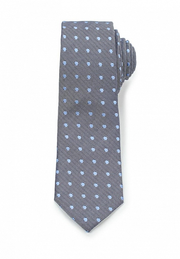 Мужской серый галстук