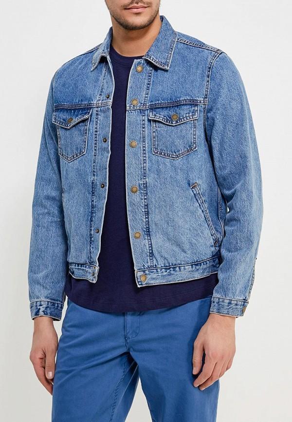 Куртка джинсовая Mango Man Mango Man HE002EMAFHW0 рубашка джинсовая mango man mango man he002emaqyh0
