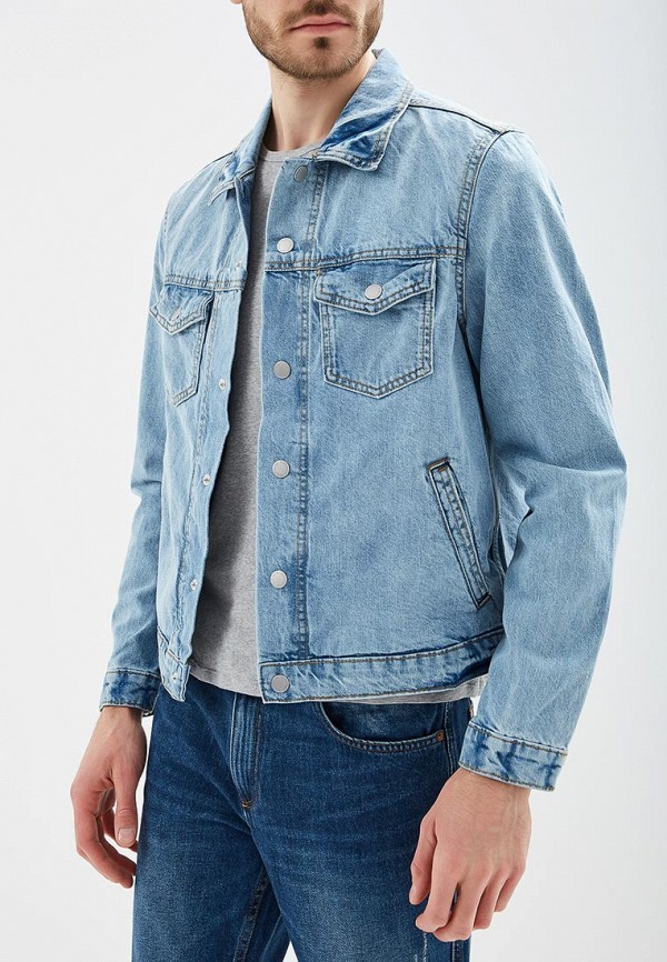 Куртка джинсовая Mango Man Mango Man HE002EMBEGC8 цена