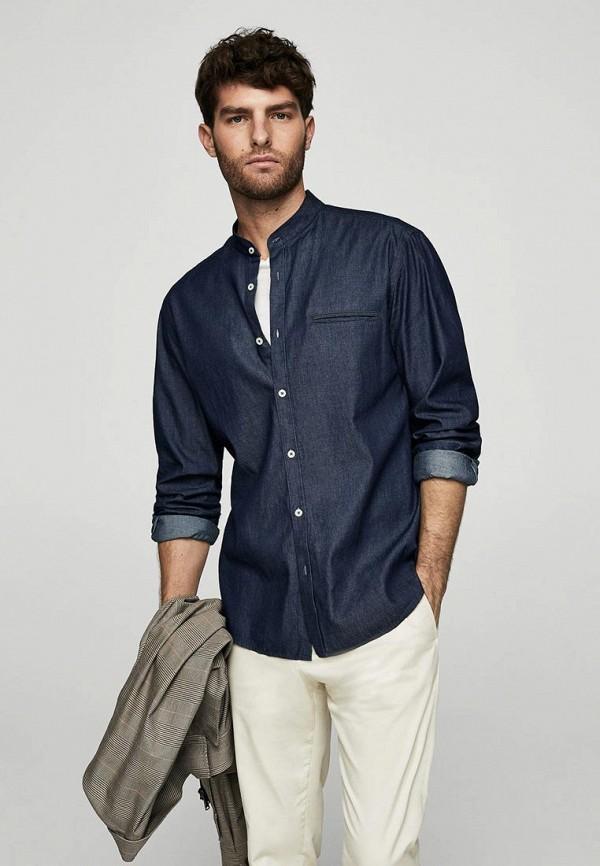 Рубашка джинсовая Mango Man Mango Man HE002EMBGYL2 рубашки mango man рубашка eleanor