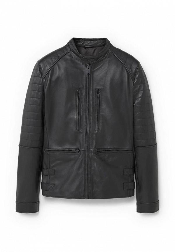 Кожаная куртка Mango Man 73050000