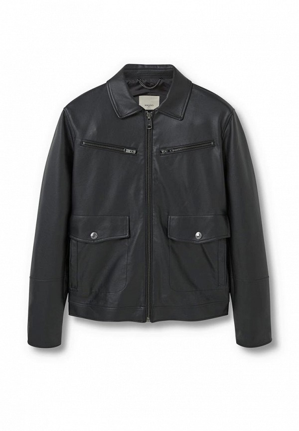Кожаная куртка Mango Man 73003006