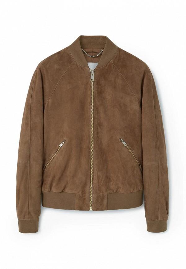 Кожаная куртка Mango Man 73090193