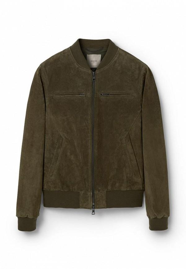 Кожаная куртка Mango Man 73020164