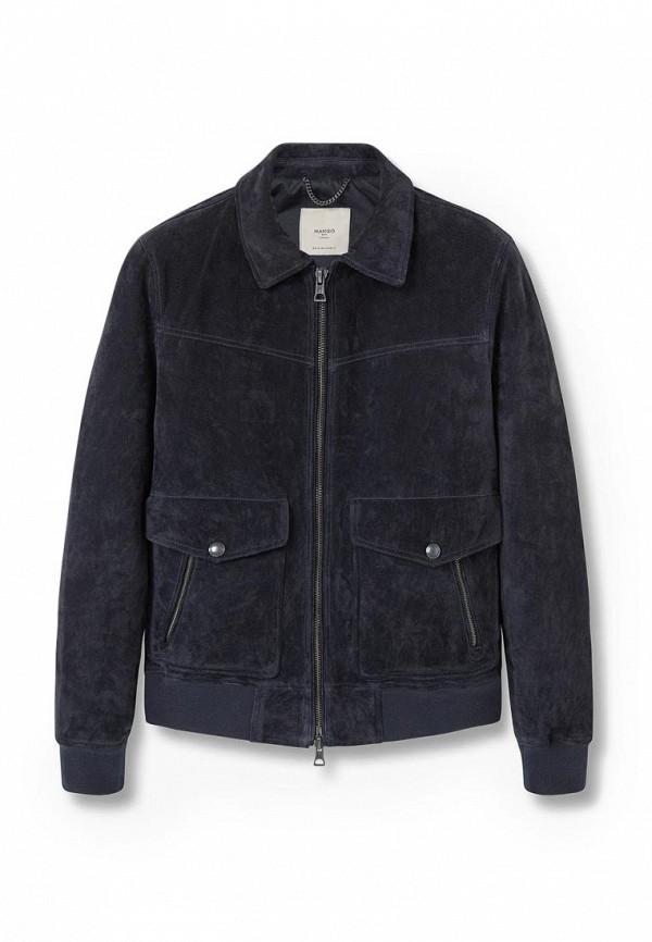 Кожаная куртка Mango Man 73030165