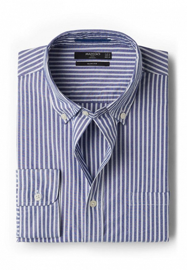 Рубашка с длинным рукавом Mango Man 74000079