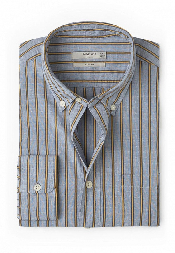 Рубашка с длинным рукавом Mango Man 74003570