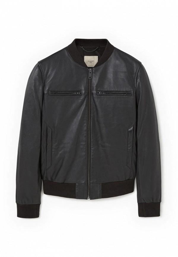 Кожаная куртка Mango Man 73045515