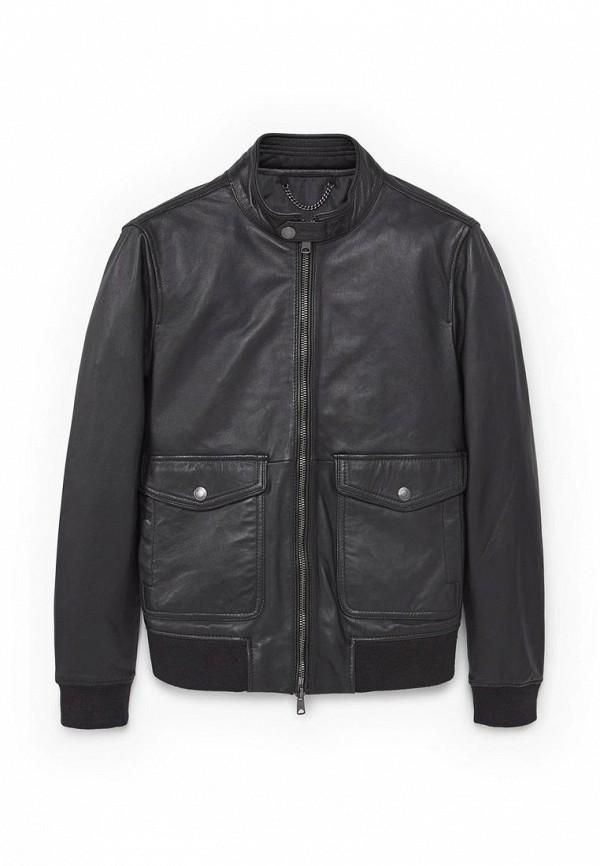 Кожаная куртка Mango Man 83050119
