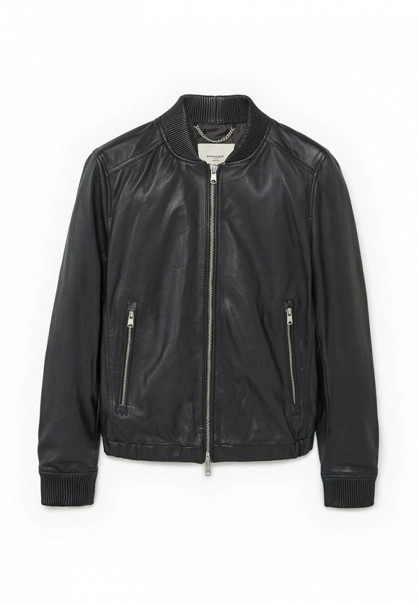 Кожаная куртка Mango Man 83030120