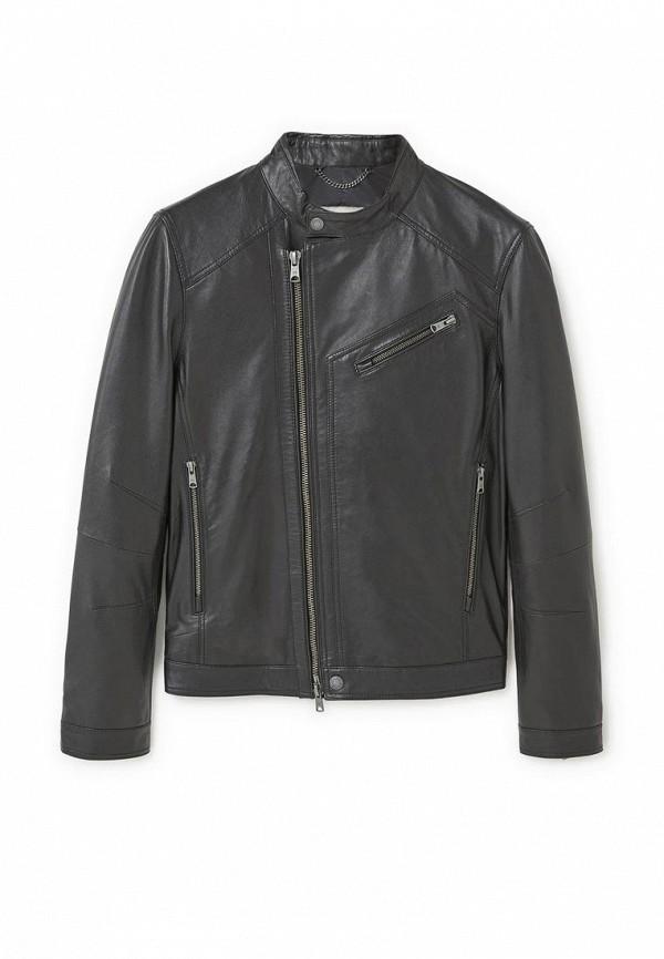 Куртка кожаная Mango Man 83095511