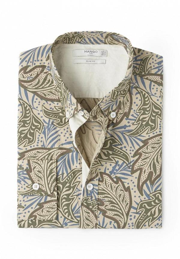 Рубашка с длинным рукавом Mango Man 84013537