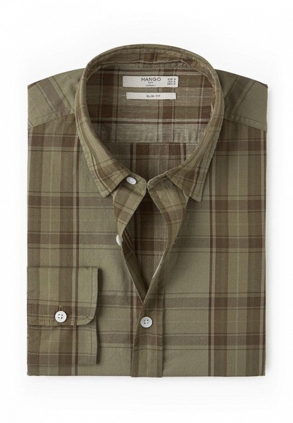 Рубашка с длинным рукавом Mango Man 84043525