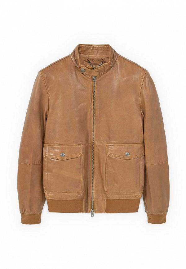Кожаная куртка Mango Man 83050122