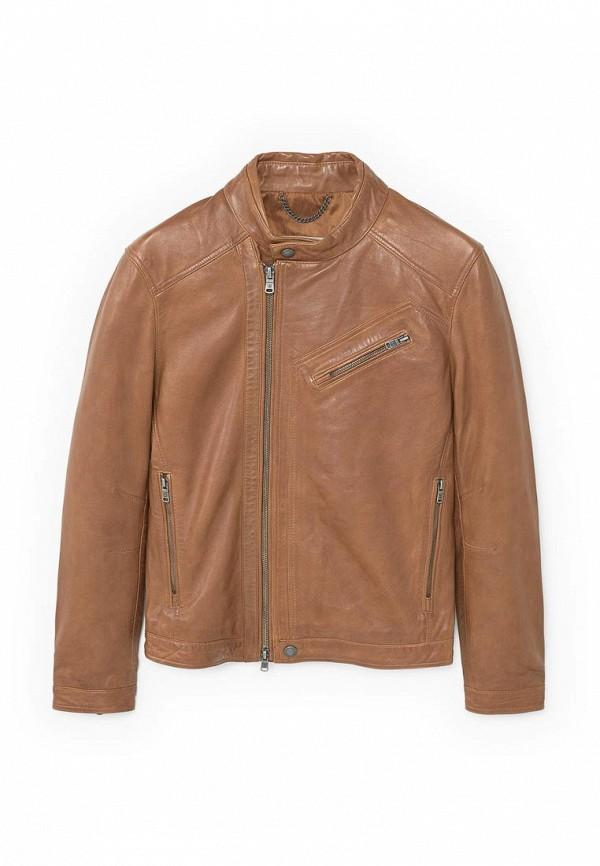 Кожаная куртка Mango Man 83025508