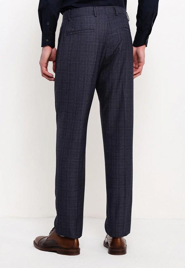 Фото 7 - мужские брюки Mango Man синего цвета