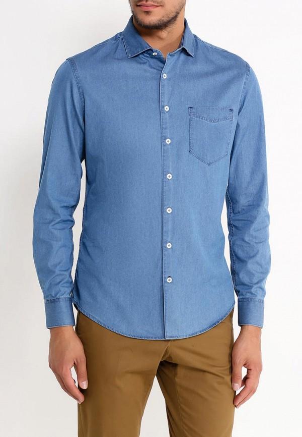 все цены на Рубашка джинсовая Mango Man Mango Man HE002EMVVB60 онлайн