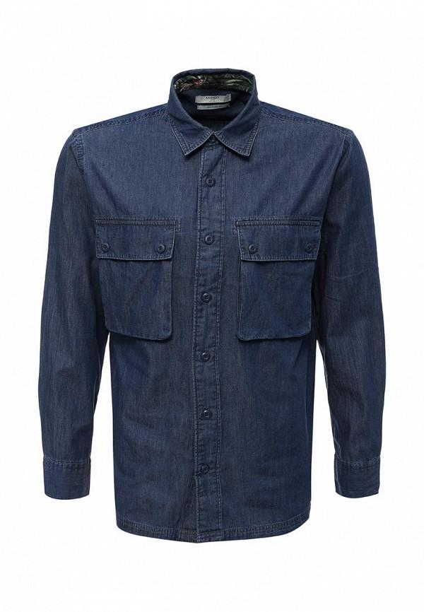 Рубашка джинсовая Mango Man Mango Man HE002EMXFC70 рубашка mango man mango man he002emtof38
