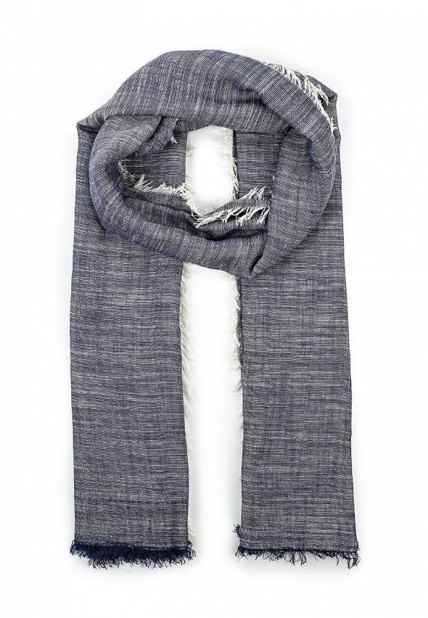 Мужской синий шарф MANGO MAN