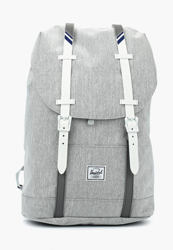 Купить мужской рюкзак Herschel Supply Co серого цвета
