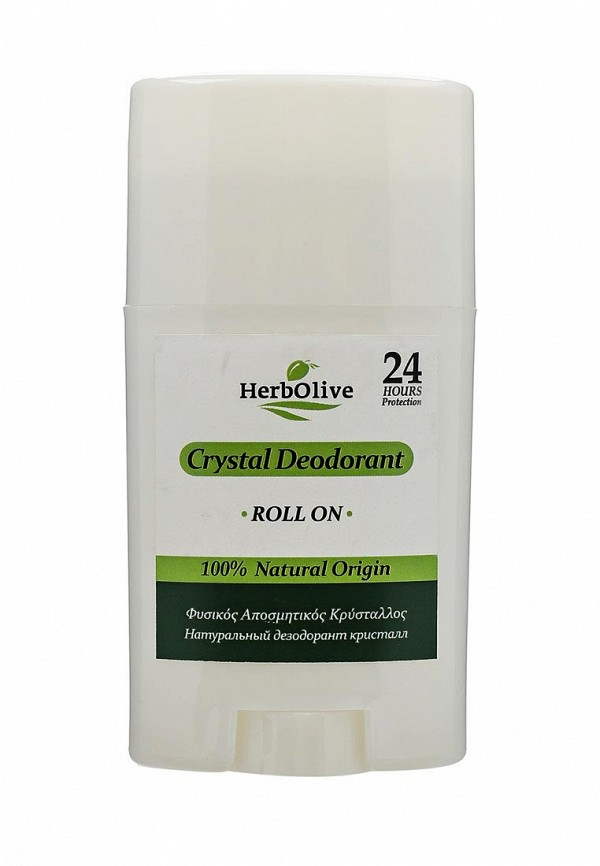 HerbOlive для тела Кристалл натуральный роллер, 70 гр дезодорант кристалл в бресте