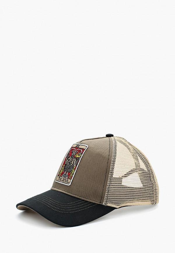 Бейсболка Herman 1874 Herman 1874 HE017CUBEFA7 шляпа herman арт macchick белый черный