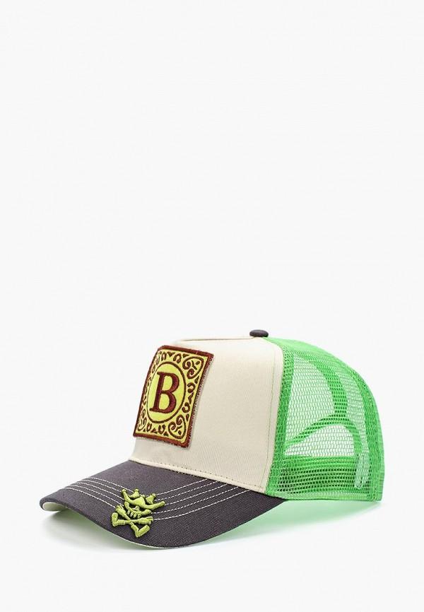 Бейсболка Herman 1874 Herman 1874 HE017CUBEFB1 шляпа herman арт macchick белый черный