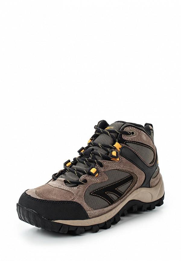 Мужские коричневые осенние трекинговые ботинки