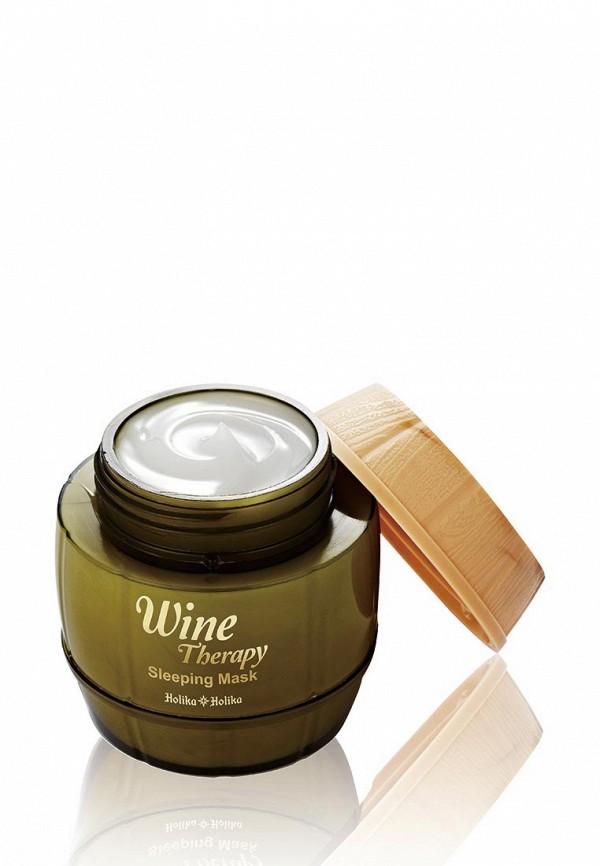 Маска Holika Holika желе ночная Wine Therapy белое вино