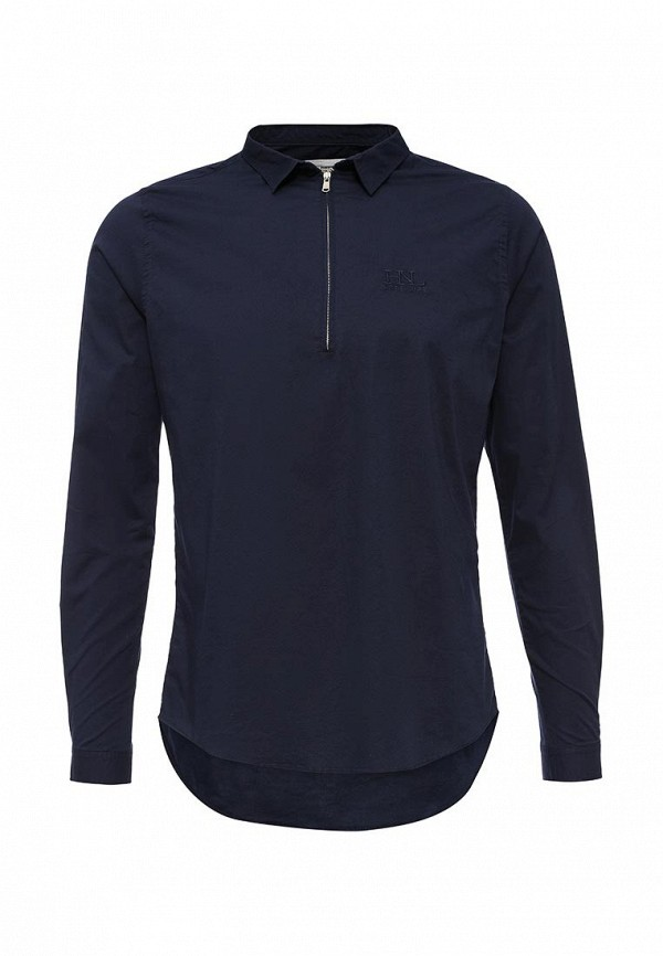 Купить мужскую рубашку Hopenlife синего цвета