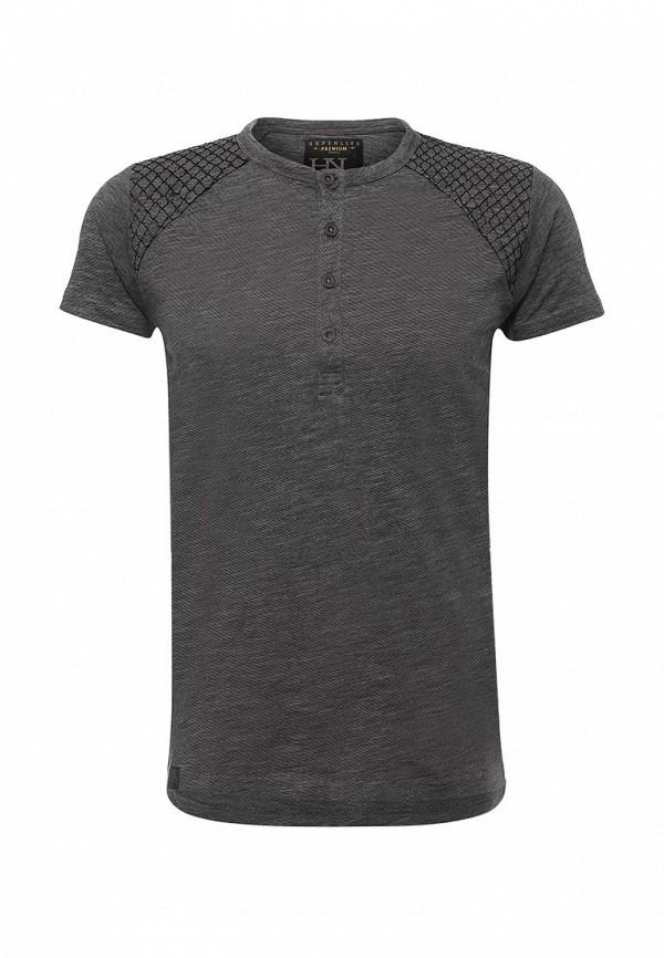 Купить мужскую футболку Hopenlife серого цвета