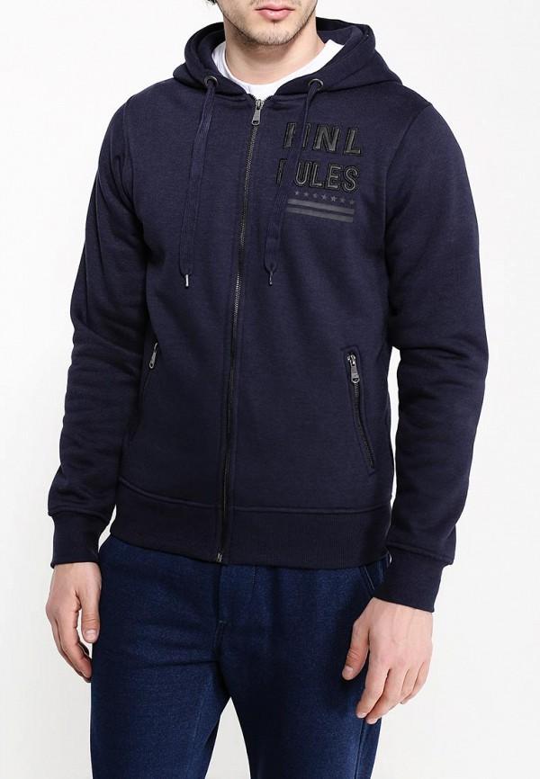 Фото 3 - мужскую толстовку Hopenlife синего цвета