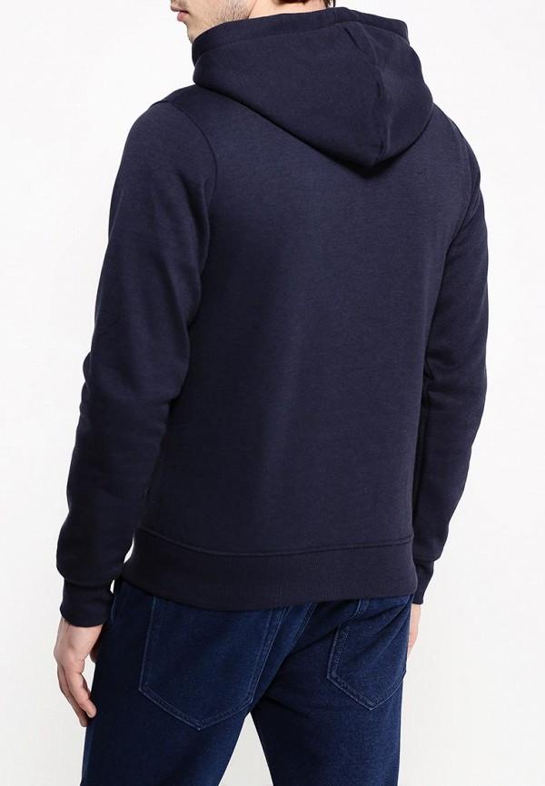 Фото 4 - мужскую толстовку Hopenlife синего цвета