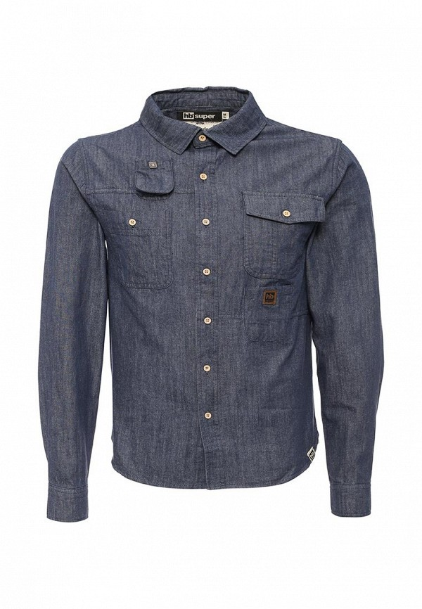 Рубашка джинсовая HoodieBuddie DT12630NVYB9999A